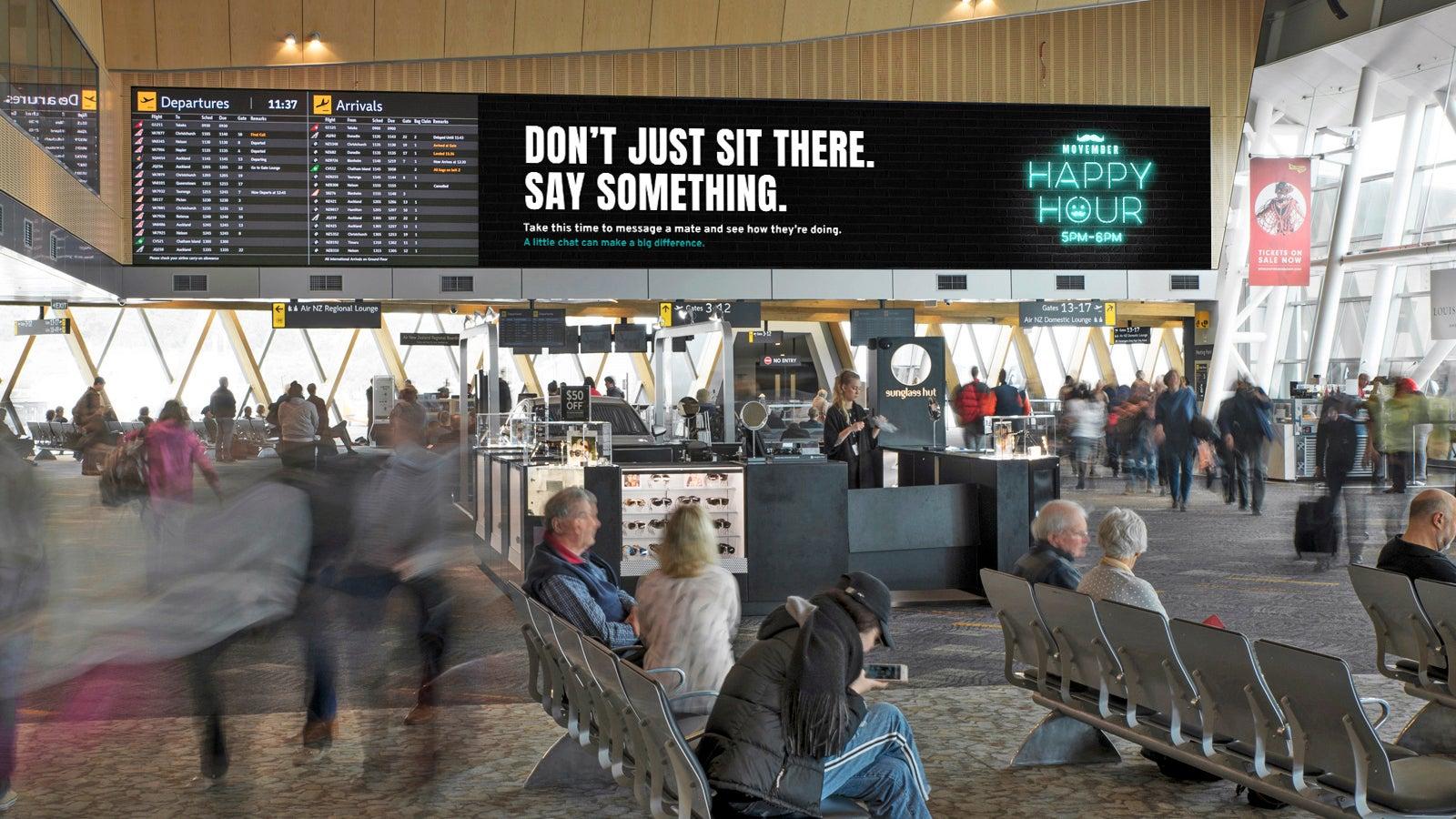 Movember Happy Hour Wellington Airport
